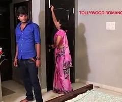 indian beautiful teacher sensuous to her student for romance.......telugu hot shortfilm