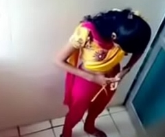 Hidden cam in ladies bathroom girl pissing