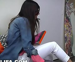 MIA KHALIFA - Busty Arab Pornstar Trains Her Muslim Friend How To Suck Flannel