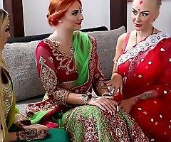 Pre-wedding indian bride august